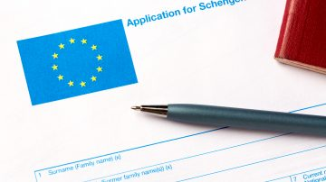General rule for submitting a Schengen area visa application