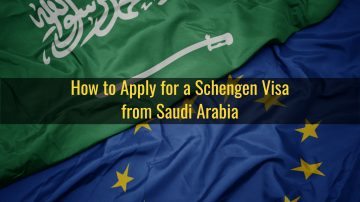 How to apply for a Schengen visa from Saudi Arabia
