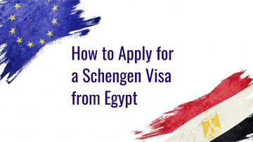 How to apply for a Schengen visa from Egypt